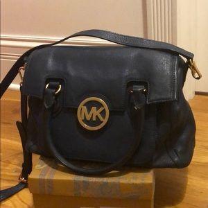 Michael Kors Navy cross body purse